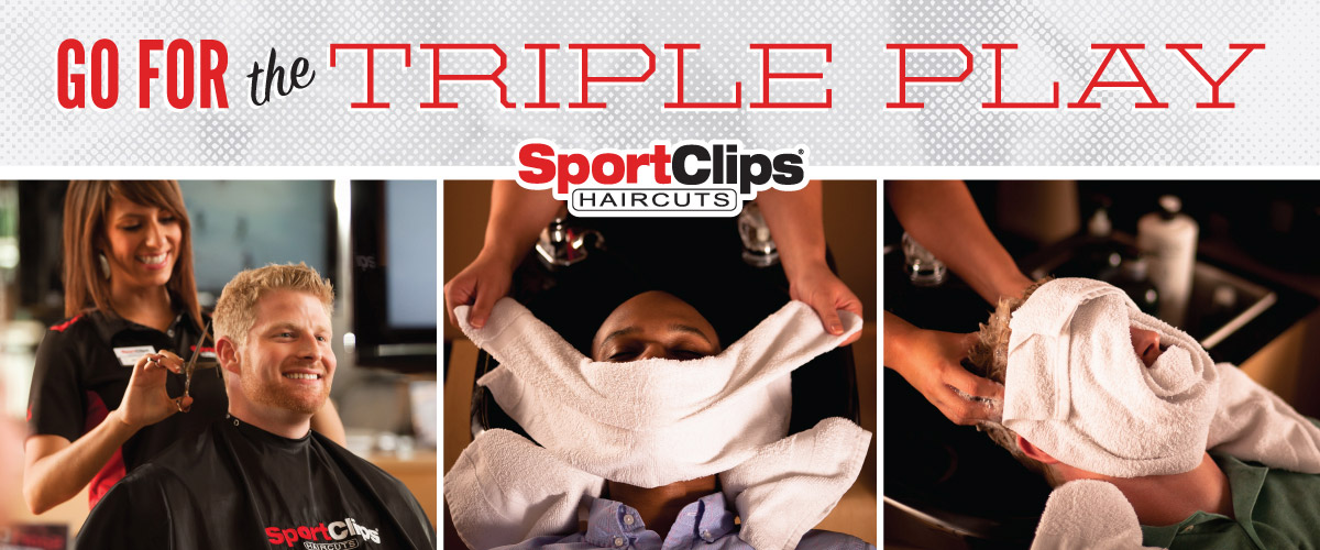 The Sport Clips Haircuts of Baton Rouge - Siegen Lane Triple Play